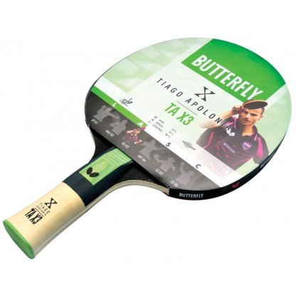 Butterfly Tiago Apolonia Table Tennis Bat