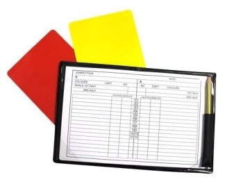 Referees Cards & Notebook