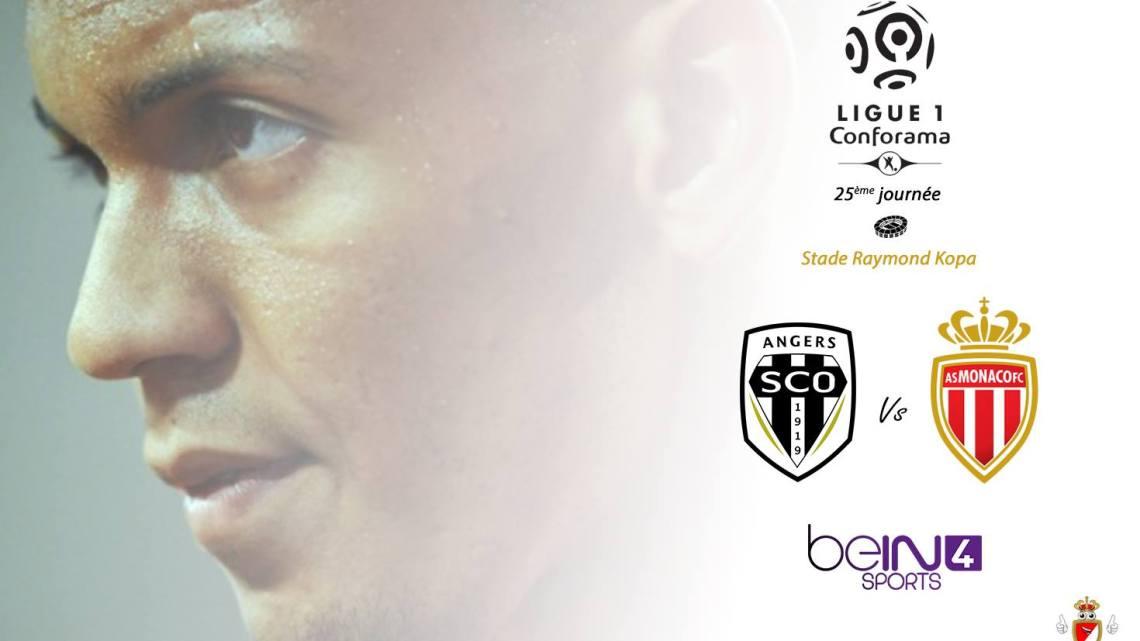 Angers-Monaco: Le groupe monégasque avec Lemar