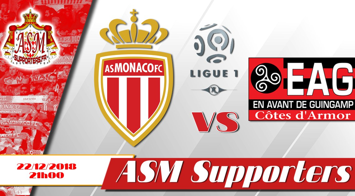 Monaco-Guingamp: compositions probables