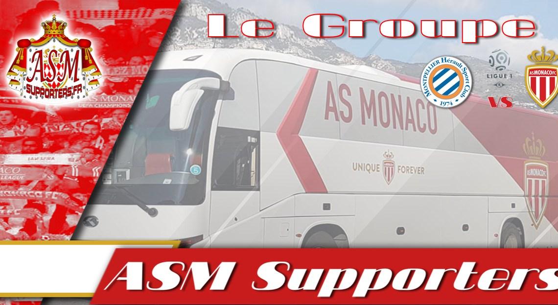 Montpellier-Monaco : le groupe monégasque avec Ndoram