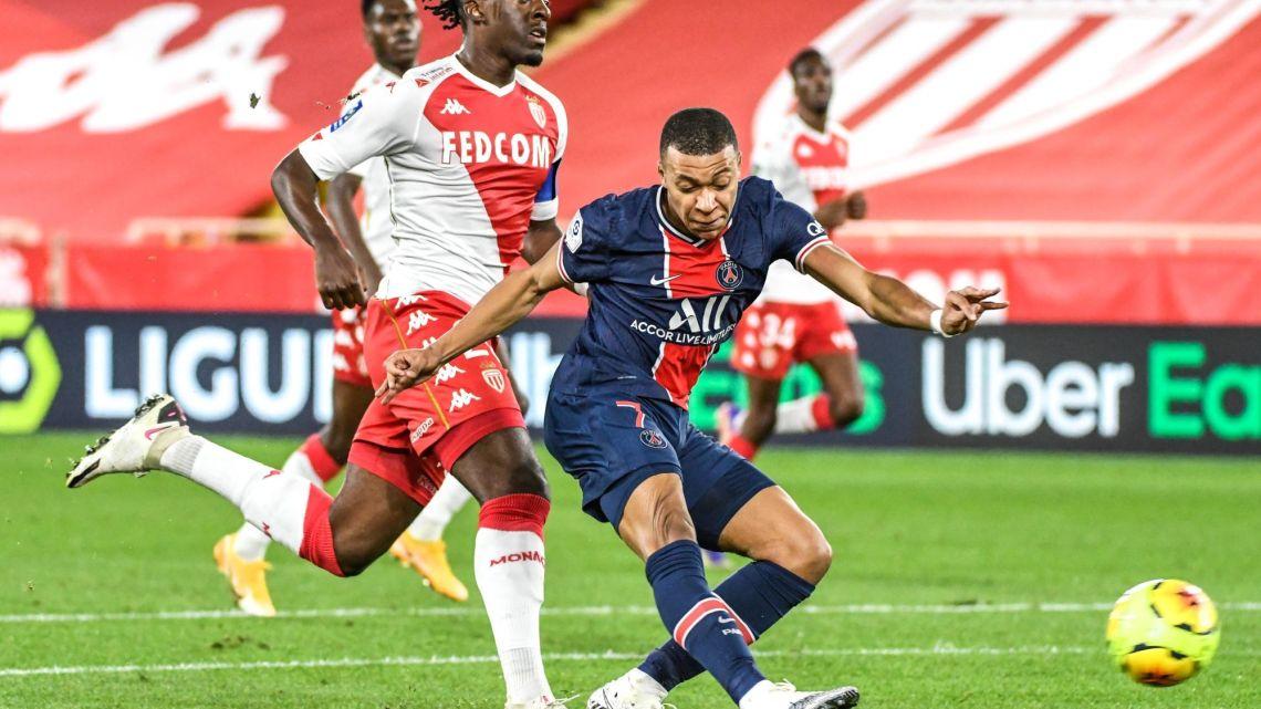 Monaco s'impose (3-2) face à Paris