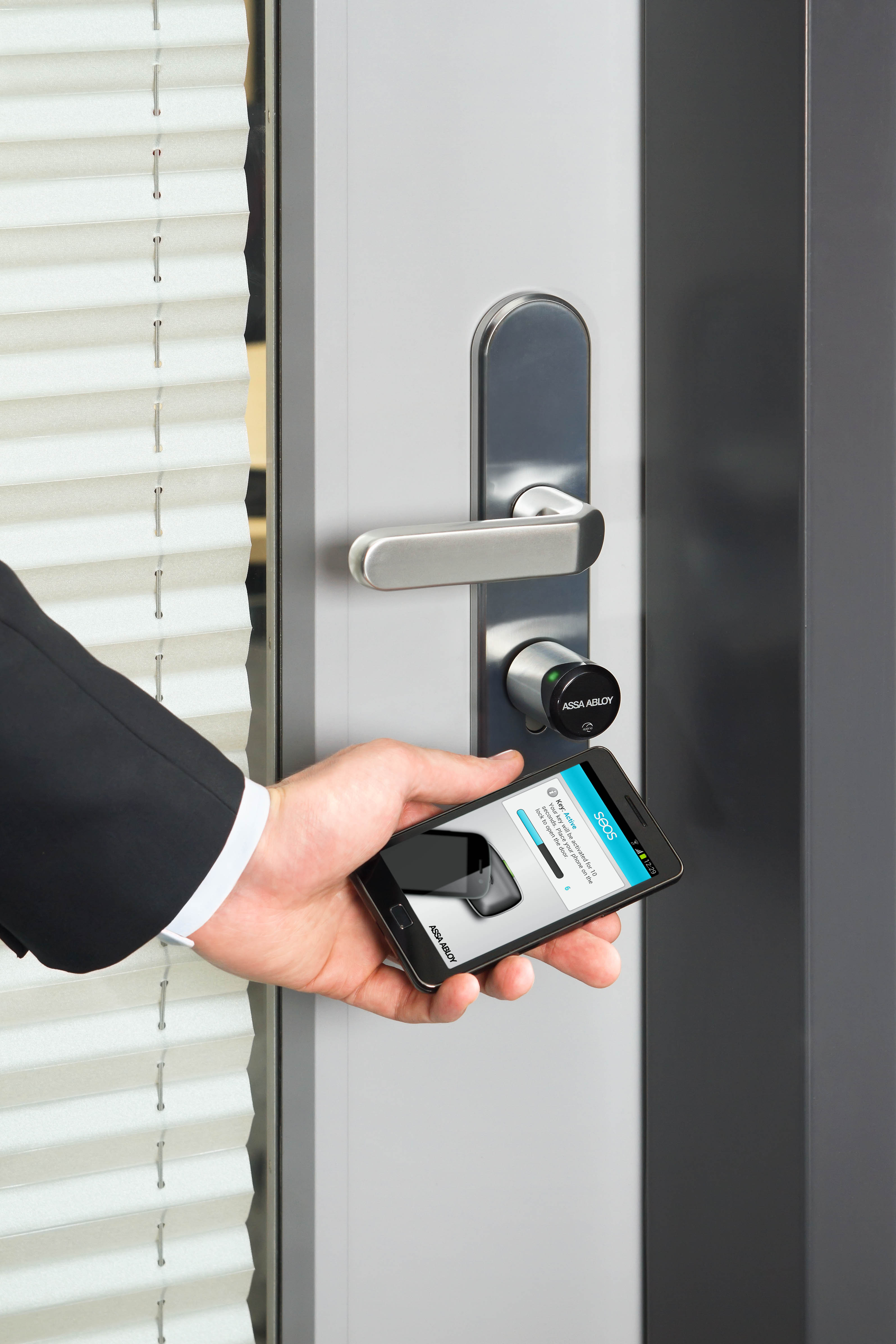 Secure And Easy To Integrate Aperio Access Control Has