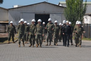 Visita Academia Politécnica Militar