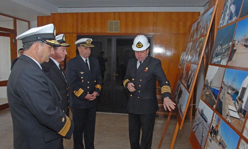 Integrantes de la XXX Reunión de Estados Mayores visitaron Astillero de Talcahuano