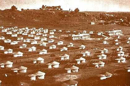 Village of Maria Scalera, Acria  1939 - Asmara Eritrea