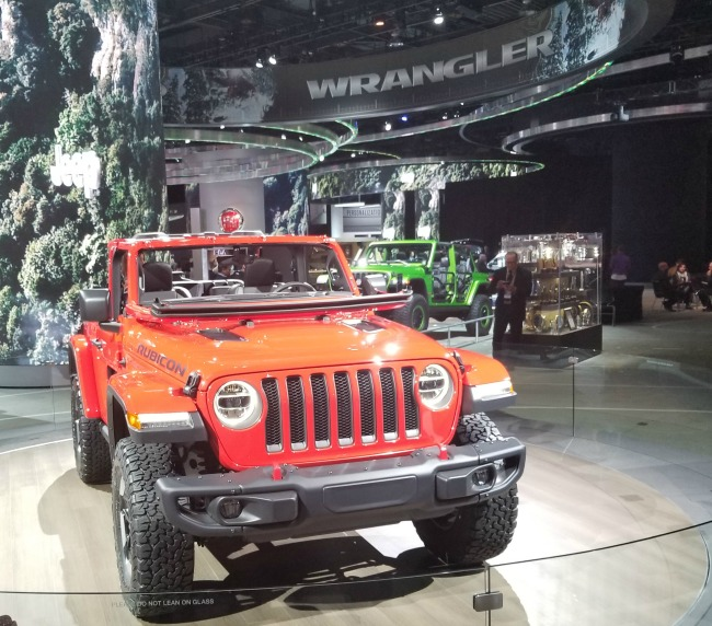 2019 Jeep Wrangler Rubicon at the Detroit Auto Show