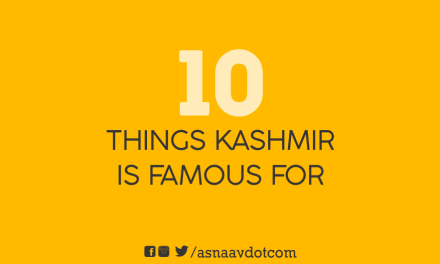 10 things Kashmir is famous for