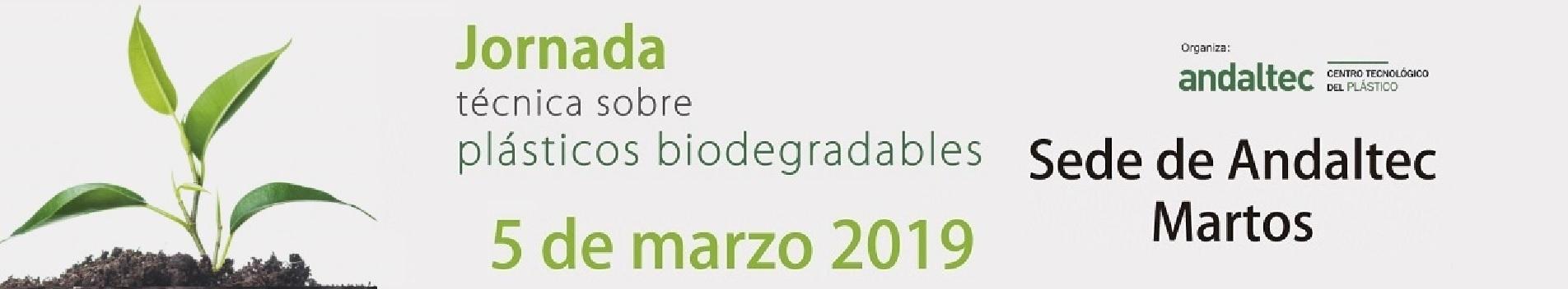 Jornada Plásticos Biodegradables