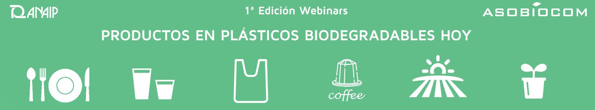 La 1ª temporada de webinars sobre plásticos biodegradables finaliza con gran acogida