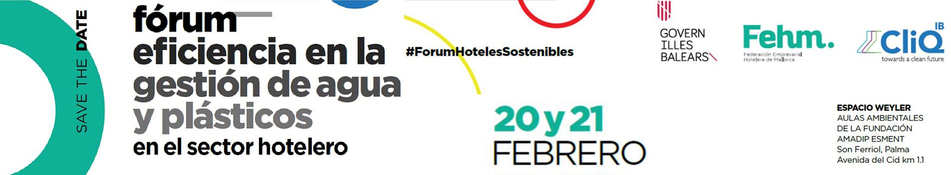 ASOBIOCOM en Forum sobre eficiencia en la gestión de agua y plásticos en el sector hotelero
