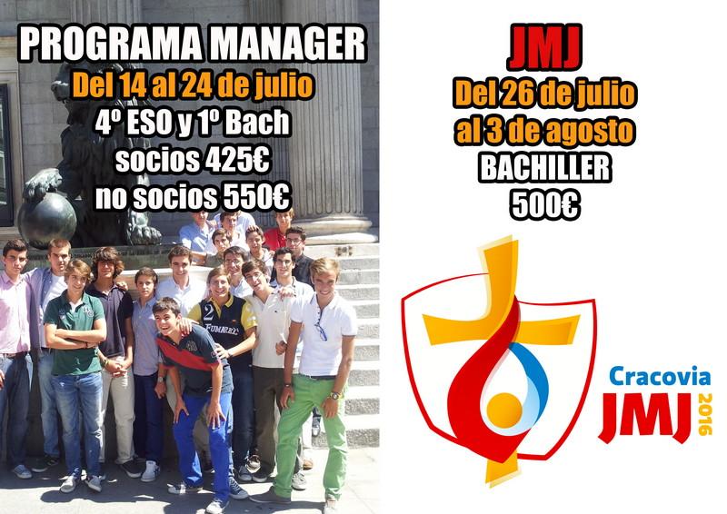 Programa Manager y JMJ Cracovia