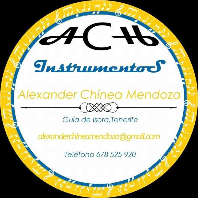 Alexander Chinea Mendoza.