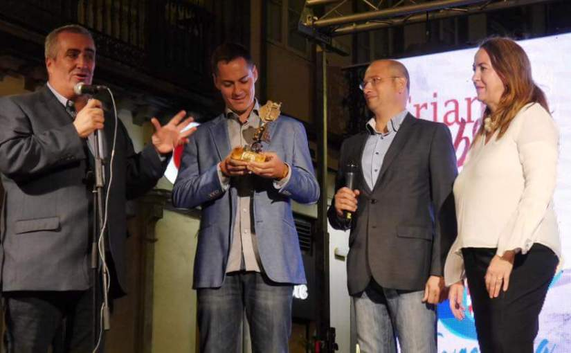 «Premio Triana de Honor» para el timplista Germán López