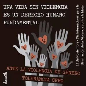cartel dia violencia