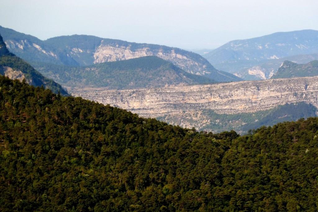 Paysage des Baronnies (Drôme)