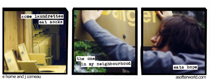 softer world, laundrette
