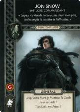 Jon Snow - 998e Lors Commandant (Recto) FR