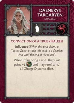 Daenerys Targaryen - Khaleesi (Verso) US