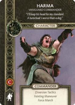 Harma - Vanguard Commander (Recto) US