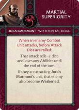 Jorah Mormont - Westerosi Tactician
