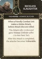 The Weeper - Horrific Butcher - Reckless Slaughter