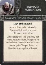 Donal Noye - Defender Of Castle Black Bulwark Formation