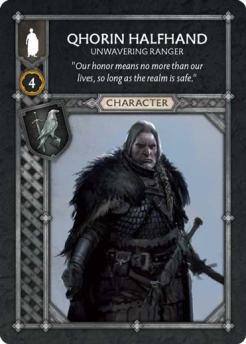 Qhorin Halfhand - Unwavering Ranger (Recto) US