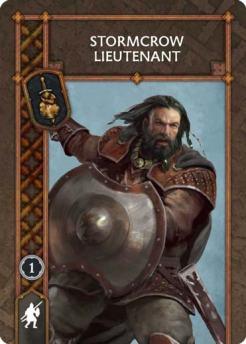 Stormcrow Lieutenant (Recto) US