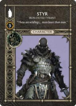 Styr - Iron-Fisted Tyrant (Recto) US