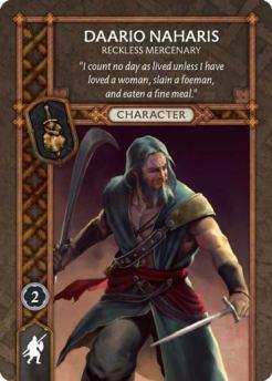 Daario Naharis - Reckless Mercenary (Recto) US