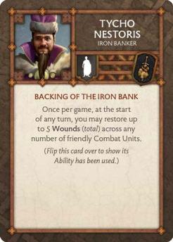 Tycho Nestoris - Iron Banker (Verso) US