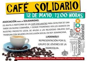 Cartel Café Solidario Salamanca 2013