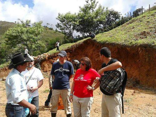 Voluntarios en Nueva Esperanza