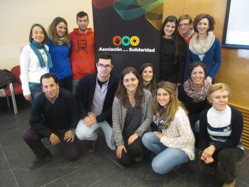 Grupo de voluntarios de AS Granada (Foto: Dolo Ortiz)
