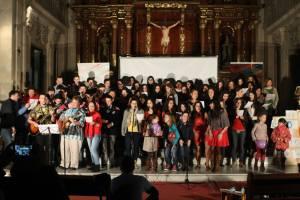 Participantes en el XXVI Recital Misionero de AS Granada