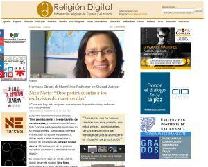 La Hermana Nixa, en Religión Digital
