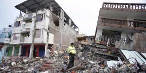 Impacto del terremoto en Portoviejo (Ecuador). Foto: Scala News