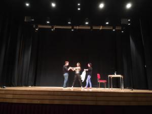 Actuación de Zulema Garcés ( Foto: Funderética)