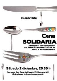 Cena Solidaria en San Gerardo