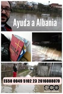 Laureano pide ayuda para Albania