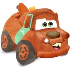 As Seen on TV Disney Cars Pillow Pet Pee Wee, Tow Mater