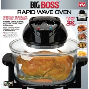 As Seen on TV Big Boss Rapid Wave Oven