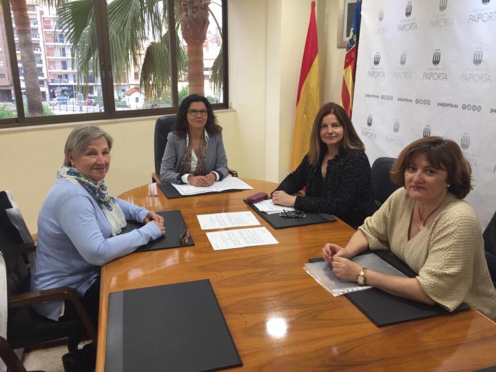 Firma Convenio Ayuntamiento Paiporta