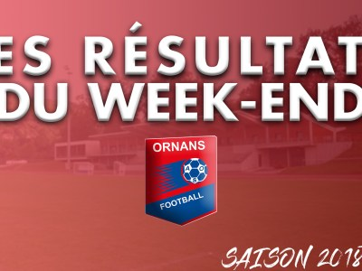 Visuel article des résultats du week-end de l'AS Ornans