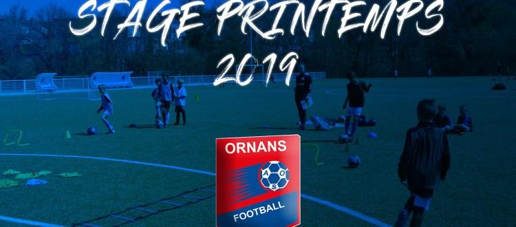 Stage printemps 2019 AS Ornans