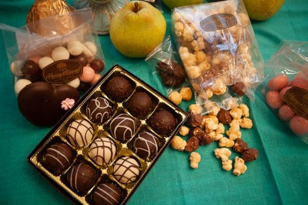 Truffles, Moose Crunch and Pears! {Oh My!}