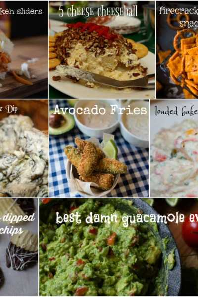 easy and delicious appetizers for the superbowl