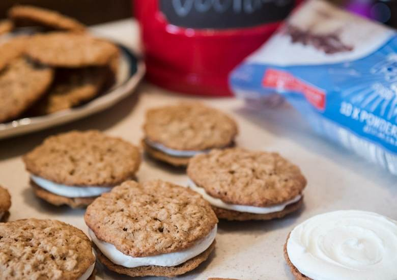 Delicious Homemade Oatmeal Cream Pie Cookies