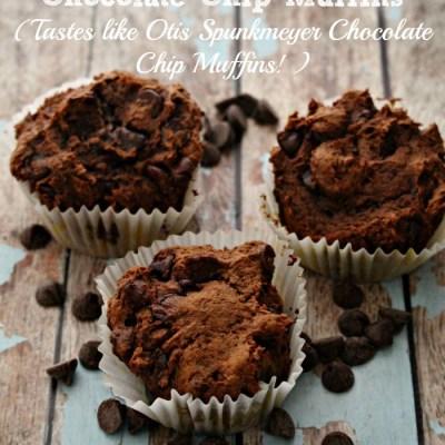 3 Ingredient Devil`s Food Cake Muffins